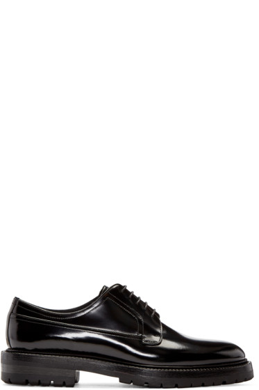 Burberry - Black Edgware Derbys