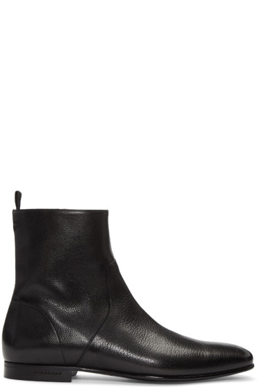 Burberry - Black Bilton Boots