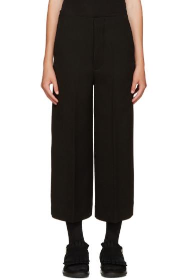 Marni - Black Wool Culottes