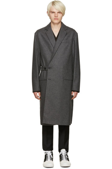 Marni - Grey Wool Coat