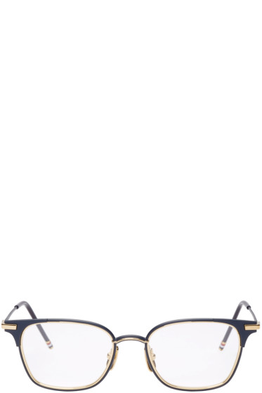 Thom Browne - Navy TB107 Glasses