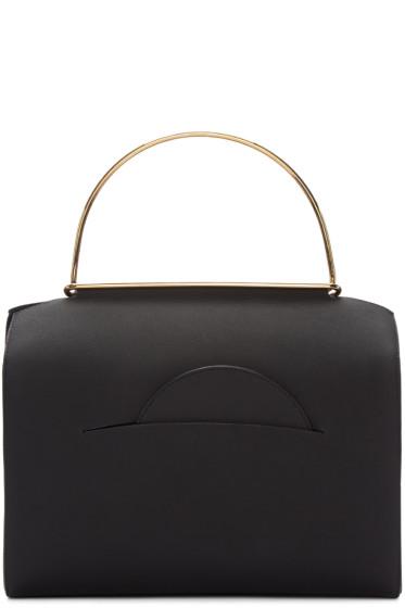Roksanda - Black Leather Duffle Bag