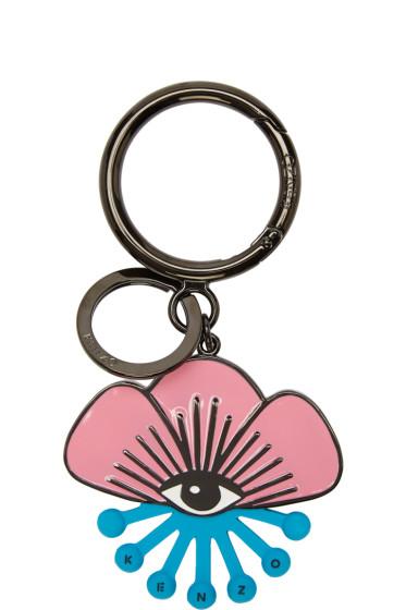 Kenzo - Pink Tanami Flower Eye Keychain
