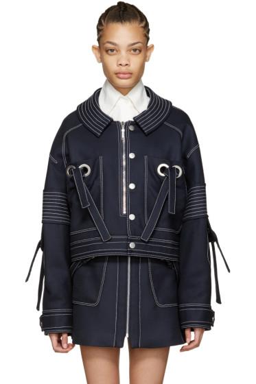 Kenzo - Navy Oversized Twill Jacket