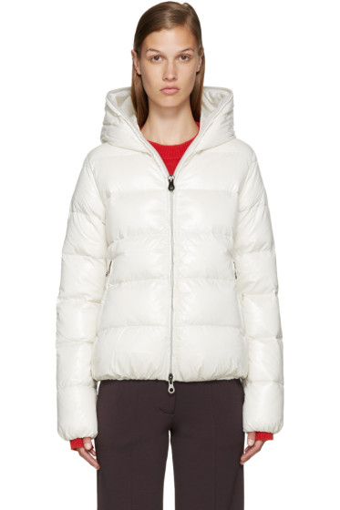 Duvetica - White Quilted Down Jacket
