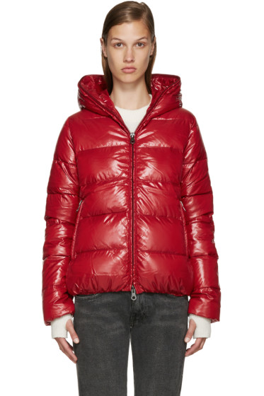 Duvetica - Red Quilted Down Jacket