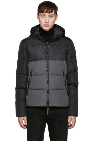 Duvetica - Black & Grey Cadel Down Jacket