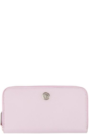 Versace - Pink Continental Wallet