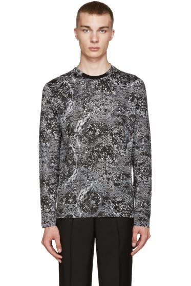 Versace - Black Printed T-Shirt