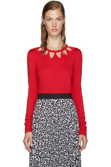 Altuzarra - Red Wool Woodward Sweater