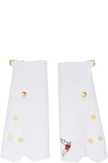 Undercover - White Oversized Shirt Cuffs