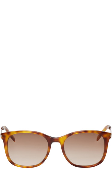 Saint Laurent - Tortoiseshell SL 111 Sunglasses