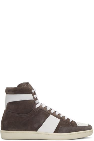 Saint Laurent - Grey Court Classic SL/10H  Sneakers