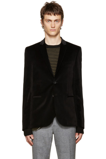 PS by Paul Smith - Black Velvet Blazer