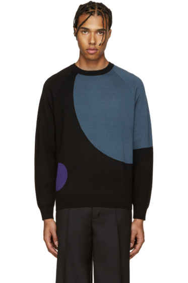 PS by Paul Smith - Black Merino Wool Sweater