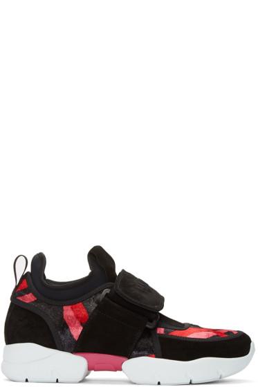 MSGM - Multicolor Logo Strap Sneakers