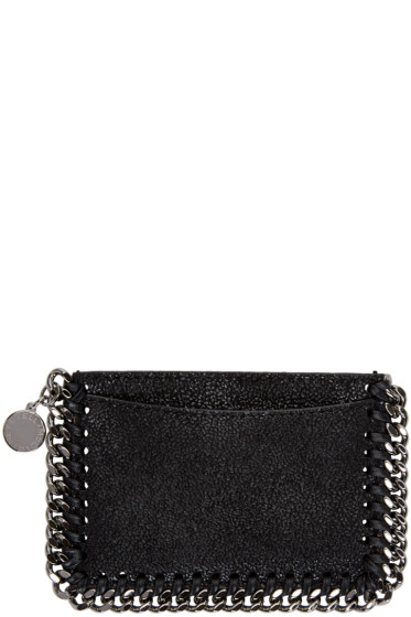 Stella McCartney - Black Falabella Card Holder