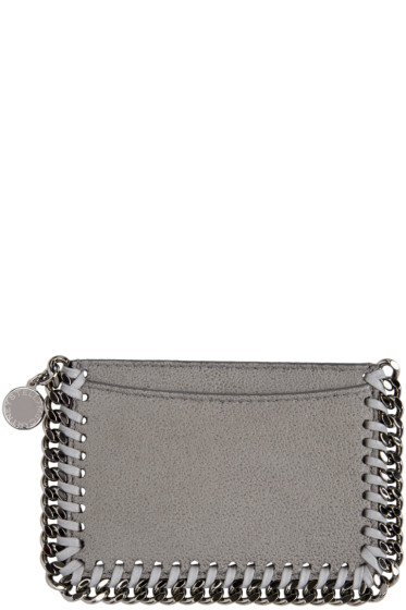 Stella McCartney - Grey Falabella Card Holder