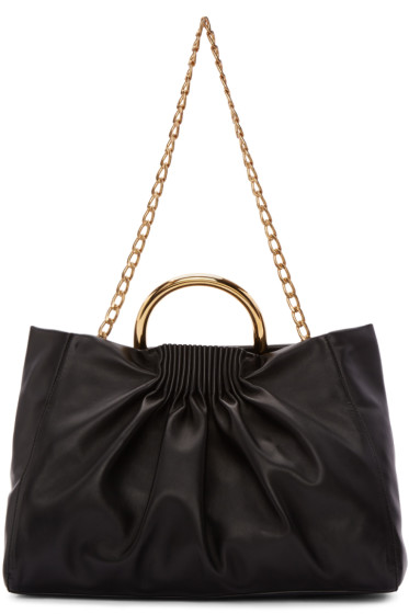Stella McCartney - Black Medium Nina Tote