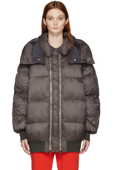 Stella McCartney - Grey Nylon Mietta Jacket