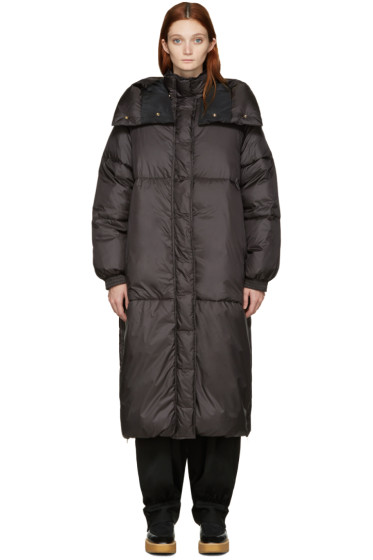 Stella McCartney - Black Nylon Marceline Coat
