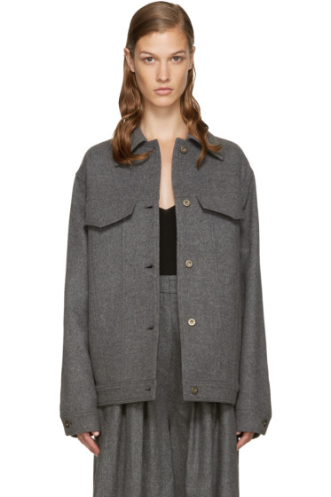Stella McCartney - Grey Wool Moony Jacket