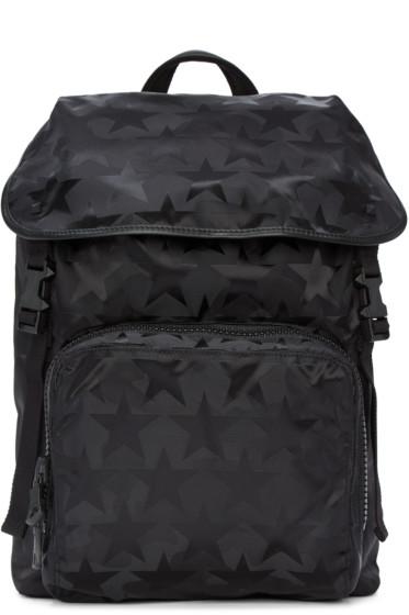 Valentino - Black Star Backpack