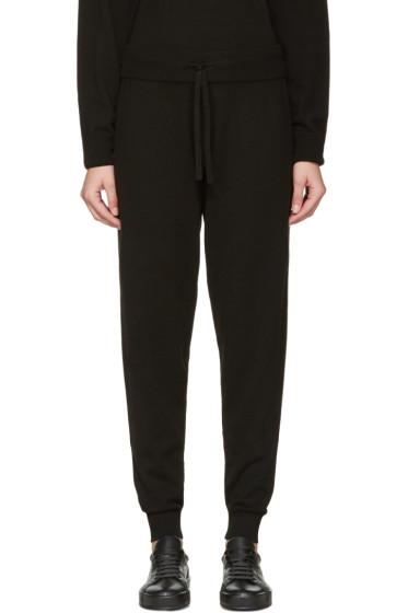 Calvin Klein Collection - Black Cashmere Valerio Lounge Pants