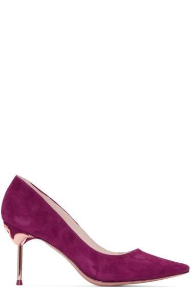 Sophia Webster - Purple Coco Flamingo Heels