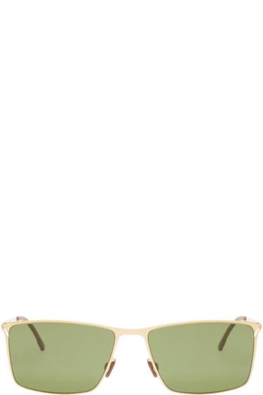 Mykita - Gold Alvin Lite Sunglasses