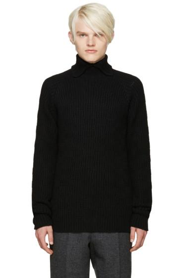 Kolor - Black Wool Turtleneck