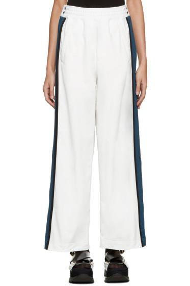 Facetasm - White Tearaway Lounge Pants