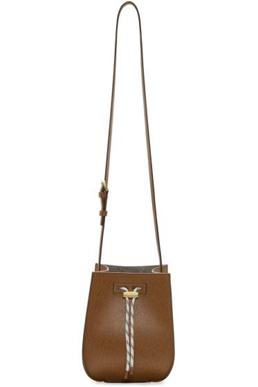 Maiyet - Brown Mini Sia Bucket Bag