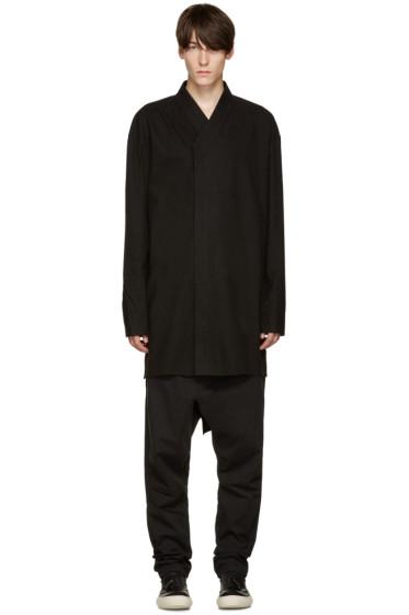 D.Gnak by Kang.D - Black Oversized Shirt