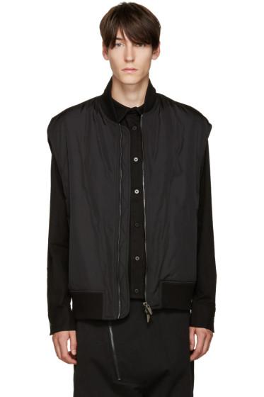 D.Gnak by Kang.D - Black Zip Vest