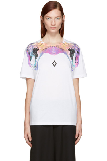 Marcelo Burlon County of Milan - White Yulisa T-Shirt