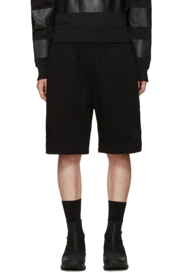 Marcelo Burlon County of Milan - Black Sajama Shorts