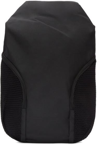 Côte & Ciel - Black Mesh-Trimmed Nile Backpack