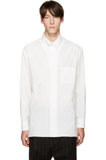 Yohji Yamamoto - White Pocket Shirt