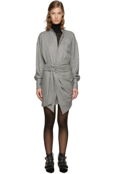 Isabel Marant - Black & Ecru Khol Dress