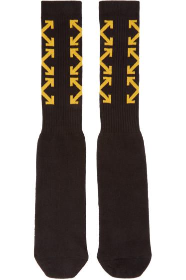 Off-White - Black Arrows Socks