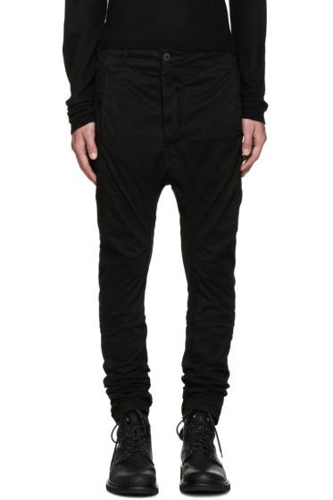 11 by Boris Bidjan Saberi - Black Dye Trousers