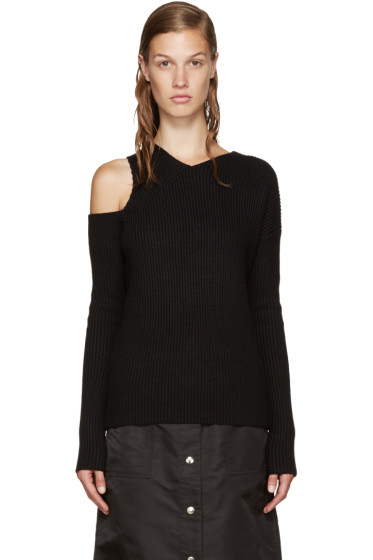 Nomia - Black Asymmetric Sweater