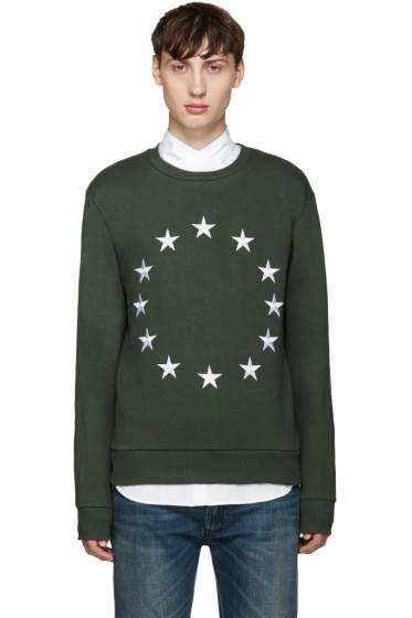 Etudes - Khaki Etoile Europa Sweatshirt