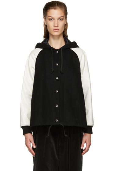 Comme des Garçons Girl - Black Hooded Jacket