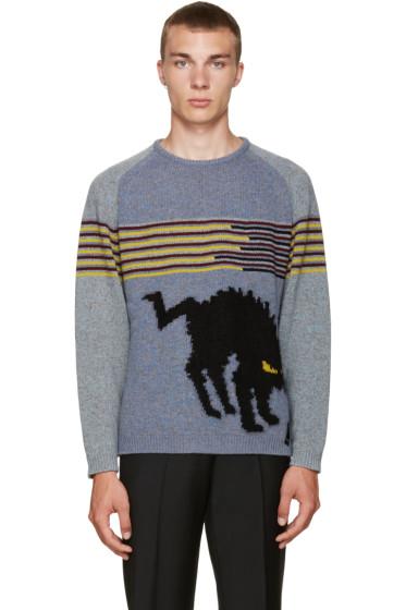 Fendi - Blue Monster Cat Sweater