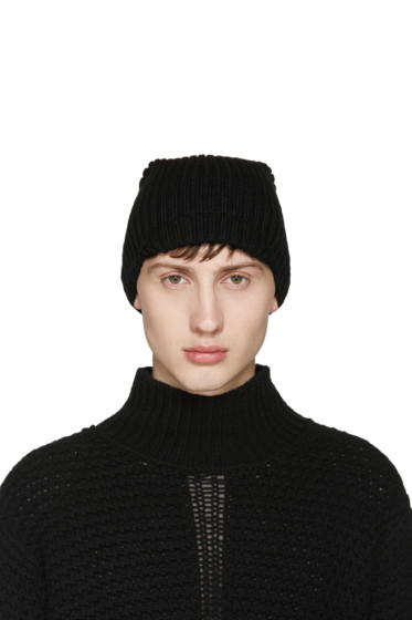 Song for the Mute - Black Asymmetric Beanie