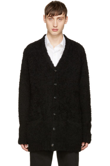 Attachment - Black Looped Knit Cardigan