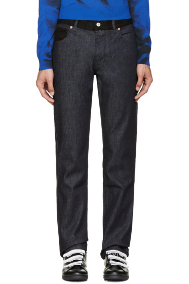 Moschino - Blue & Black Combo Jeans