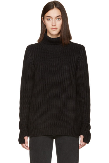 Earnest Sewn - Black Mia Turtleneck